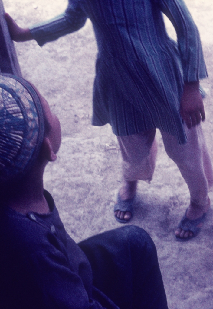 Two Afghan Boys In Mazar about 1970